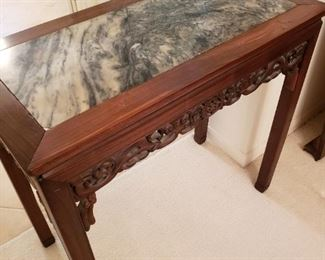 Marble top Japanese table