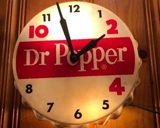 DR. PEPPER CLOCK