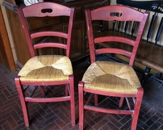 PRIMATIVE CHAIRS