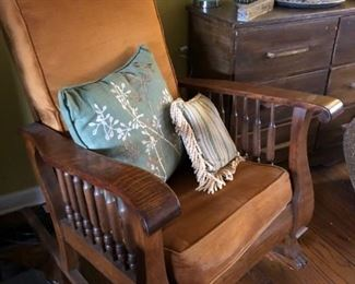Mission Rocking Chair Oak