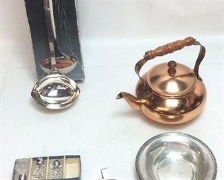 COPPER TEAPOT, LADEL