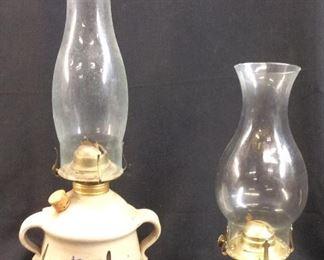 VTG. OIL LAMPS