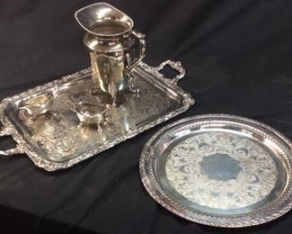 WR ROGER & WITHROP SILVERPLATE