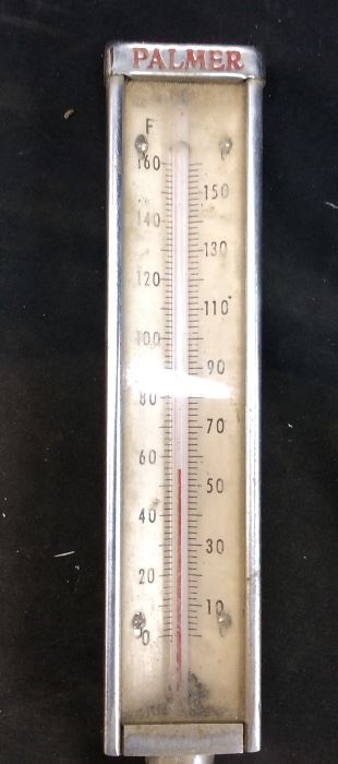 VINTAGE PALMER THERMOMETER