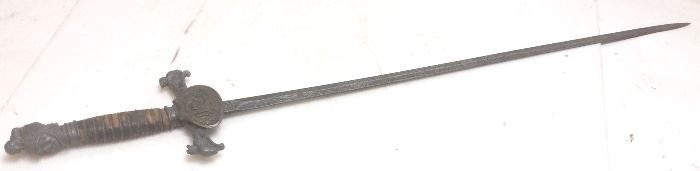 ANTIQUE ''KNIGHTS OF PYTHIAS'' FRATERNAL SWORD