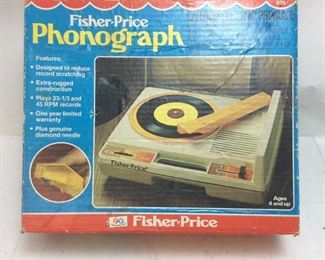FISHER PRICE PHONOGRAPH