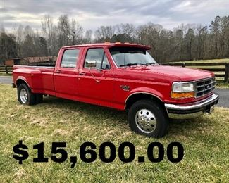 1995 Ford F350 XLT SuperCab 7.3L PowerStroke Turbo Diesel Dually (Mileage 157,926) Very Good Condition!