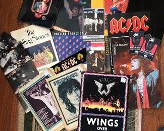 Wow! Vintage concert programs !