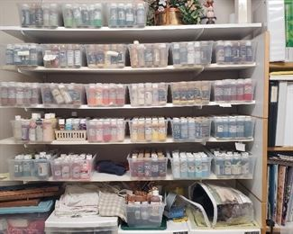 Every color acrylic paint you can imagine!!!
