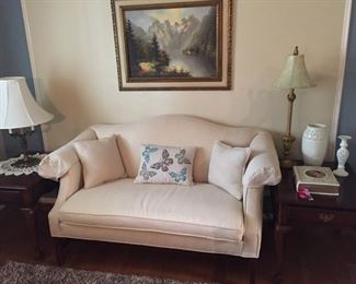 Love Seat/End Tables