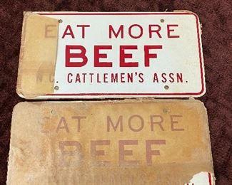 N.C. Cattlemen's Association Metal License Tags