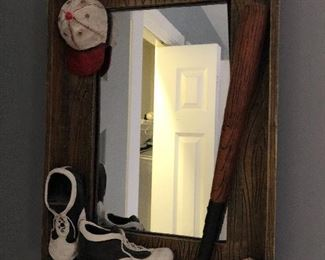 baseball mirror