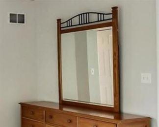 Thomasville Impressions dresser and mirror