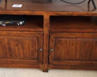 """Walter E. Smithe entertainment center - 4 pcs includes this center media cabinet fits a 55""""TV"""