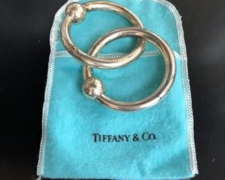 Tiffany & Co. sterling rattle / teething rings