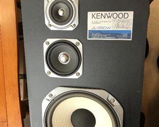 Kenwood floor speakers