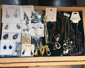 costume jewelry - lots of never opened or worn pieces