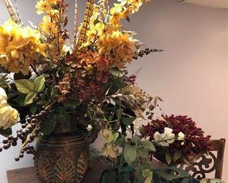 Seasonal floral arrangements