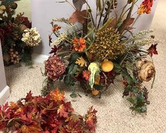 Seasonal floral decor