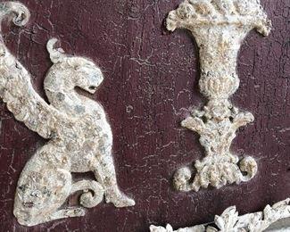 John Richards metal & wood wall art