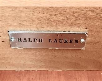 "37. Ralph Lauren Carved Cabinet (33"" x 17"" x 32"")"