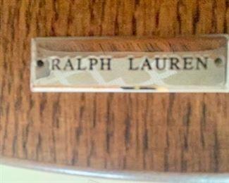 "28. Pair of Ralph Lauren Accent Tables (27"" x 28"" x 32"")"