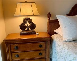 """Pair of matching nightstands by """"Tommy Bahama"""" Lexington"""