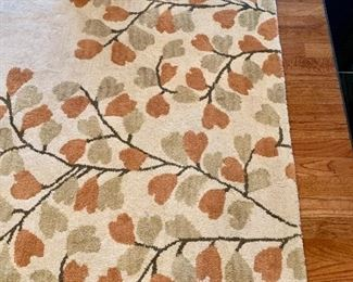 """9'9"""" by 9'9"""" square wool rug"""