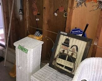 Items Located In The Garage