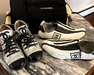 Sexy CHANEL Run-Around Shoes