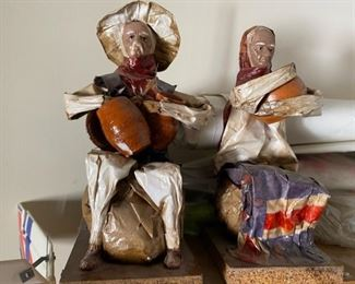 Paper Mache Figurines, Collectables