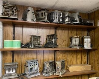 antique toasters