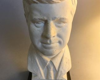 John F. Kennedy Bust Designed by Artist - Gerhard Bochman and Made by Goebel, West Germany