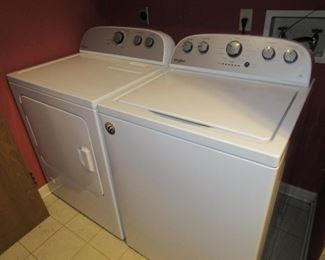 Washer/dryer less than 6 months old