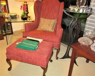 Walther wing back chair