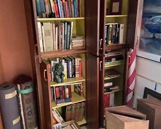Many books , CD'S, DVD'S.