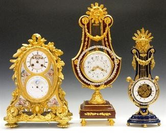 Fine French Clocks