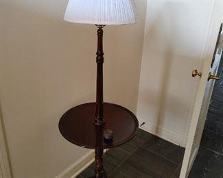 Floor lamp table $75