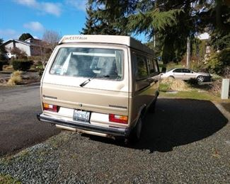 1985 Volkswagen Vanagon--Great Shape.  Drives really well.  New battery-Pop up top in good shape-Good tires-CB Radio-194,000 Miles
