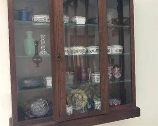 This curio cabinet and contents are part of a monthly subscription.  We have all the paperwork.