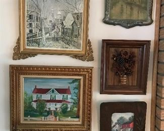 Wonderful local artist and old prints