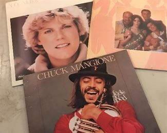 Here is just a sample of the albums we have.   Anne Murry, Chuck Mangione, Manhattan Transfer
