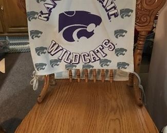 Kansas State Wildcats chair back covers