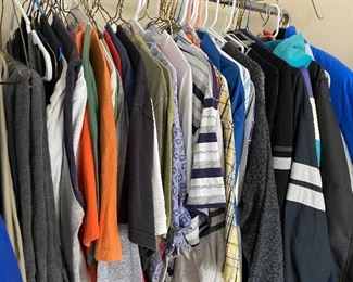Men's clothes size Large-XL