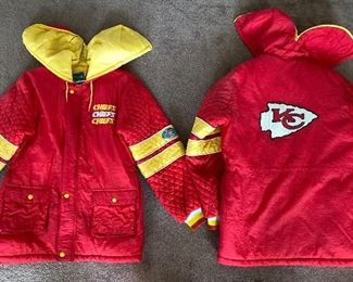 Retro KC jackets, adult small and XL