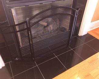 1/3 fireplace screens