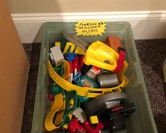 Toy power tools