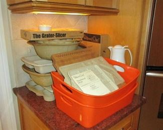 Pampered chef and rachel ray casseroles