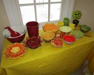 Ceramic ware and Longaberger