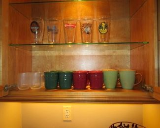 Longaberger mugs and other glasses